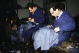 Bulgaria, tailors making clothing