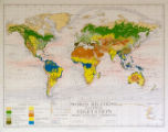 World Relations Natural Vegetation with January Currents