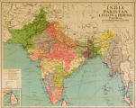 India, Pakistan, Ceylon & Burma - Political & Communications