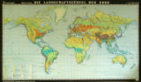 Die Landschaftsgürtel der Erde [Landscape Zones of the World]