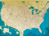 Hearne Brothers Official Map of These United States