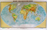 Relief-Like Map of the World