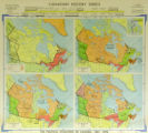 Political Evolution of Canada, 1867-1898, The [4 maps]
