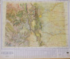 The Jeppesen Natural Color Relief Map Colorado