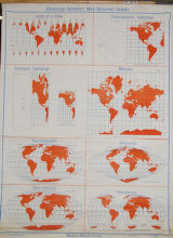 Denoyer-Geppert Map Reading Series World Projections