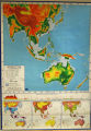 Pictorial Relief with Merging Colors: Southeast Asia and Australia