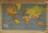 North German Lloyd Bremen: Regular Shipping Services to all Parts of the World
