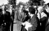 United States, Moroccan dignitaries meeting Walt Disney in Anaheim