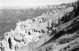 United States, view of rock formations at Bryce Canyon National Park in Utah