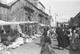 Guatemala, view of street market in Guatemala City