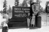 United States, Sandra and John Forman at Bryce Canyon National Park