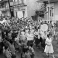 Puerto Rico, parade through street in Utuado