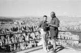 United States, Harrison and John Forman at Bryce Canyon National Park