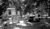 United States, picnic at Twin Lakes camp site