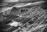 Mexico, aerial view of Cerro de la Campana in Hermosillo