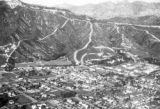 United States, aerial view of Los Angeles