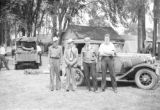 Canada, group at camp in Ontario Province