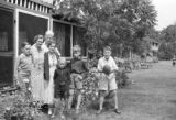 Canada, Graham and Platt children at cottage in Roches Point