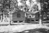 United States, log cabins in Fall Creek