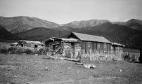 Elko County (Nevada), ranch house near Cold Creek