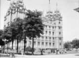 Salt Lake City (Utah), view of Salt Lake Temple