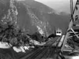 California, funicular on Echo Mountain peak