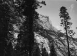 California, view of mountain in Yosemite National Park