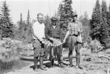 Ontario, men with trout