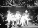 Chanute (Kansas), group of young children