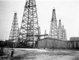 Jefferson Davis parish (Louisiana), oil field near Jennings