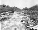 Maryland, falls and rapids of Potomac River near Great Falls