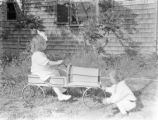 Duxbury (Massachusetts), Clapp children with toy car