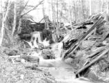 Franklin County (Massachusetts), forest stream near Warwick