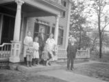 Abington (Massachusetts), Chalmers Stevens Clapp family outside home