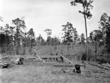 Chipley (Florida), construction of an oil rig