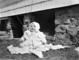 New York, Priscilla Clapp as infant