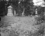 Gettysburg National Military Park (Pennsylvania), view of monuments along Slocum Avenue including...