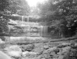 Washington County (Pennsylvania), waterfall over rock outcrop