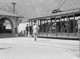 Western United States, trolley car to Alpine Tavern