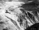 Labrador, aerial view of mountainous landscape