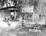 United States, roadside fruit stand in Florida