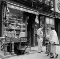 United States, bakery shop on street in Manhattan