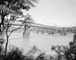 United States, bridge over Ohio River in East Liverpool
