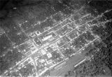 Escuintla (Guatemala), aerial view of the town