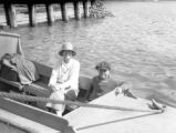 Picton (New Zealand), Helen R. Clapp and Gardner Clapp in fishing boat