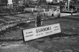 Guam, sign for 'Guam, Military Installation'
