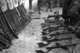Changde (China), firearms confiscated by the Chinese from Japanese troops after the Battle of...