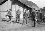 Changde (China), Chinese soldiers guard Japanese prisoners of war after the Battle of Changde