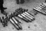 Changde (China), artillery confiscated by the Chinese from Japanese troops after the Battle of...