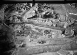 Fushun (China), relief model of land and surrounding mountains, possibly coal mine